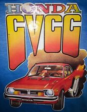70s HONDA cvcc Civic Fast & Furious Japanese Import vtg t-Shirt Iron-On Transfer