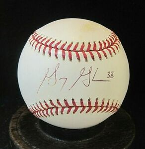 Gary Glover Signed OML Baseball COA, White Sox, Rays, Brewers, Angels, Tigers +1