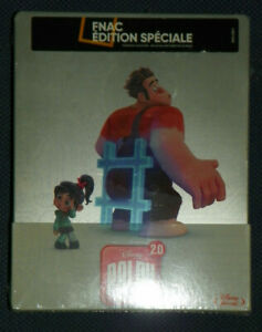 Ralph 2.0 Blu-ray Steelbook Disney NEUF sous blister edition speciale