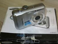 Samsung D860 8.1MP - Digital Camara - Plateado