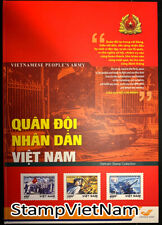 Vietnamese Stamp collection  - History of Vietnamese People's Aemy