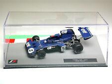 JACKIE STEWART TYRRELL 006 F1 auto da corsa 1973-MODELLO DA COLLEZIONE-Scala 1:43