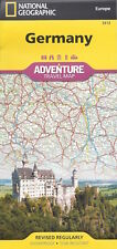 National Geographic Germany Map *FREE SHIPPING- NEW*