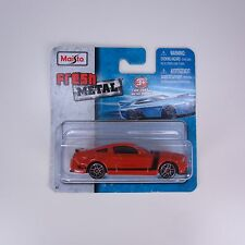 Maisto Fresh Metal Ford Mustang Boss 302 Competition Orange 1:64 Diecast