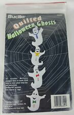 BUCILLA Quilted Halloween Ghosts Kit #63399 1993