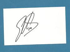 Elliott Sadler - NASCAR - Autographed 3 x 5 Index Card