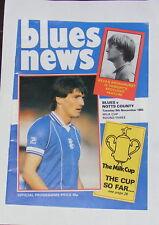 Birmingham City -v- Notts County  1983-1984