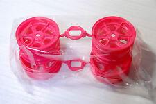 TAMIYA 1/10 AVANTE(2011) BLACK SPECIAL pink wheels front and rear