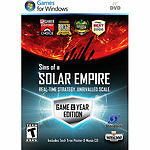 NEW - Sins of a Solar Empire - Game of the Year - PC. Free shipping