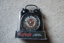 Reloj Despertador Deep Purple Campana Doble de logotipo DP NUEVO Gillan Blackmore Machine Head