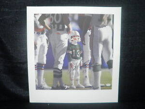 Dan Marino Signed Miami Dolphins Marino's Son Litho JSA
