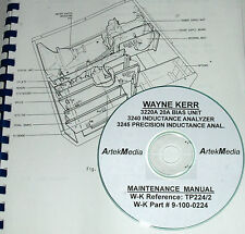 Wayne Kerr 3240 3245 3220A (Inductance anlayzers & Bias Unit) Service Manual