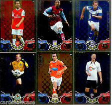 2010-11 Topps Match Attax Star Player Foil Card Full Set (20)