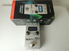 Singular Sound Beat Buddy 2 Mini Drum Machine Effects Pedal w/Box and Adapter