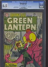 SHOWCASE #24 CGC FN+ 6.5; CM-OW; 3rd app. SA Green Lantern (1-2/60)!