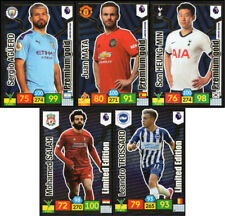 PANINI PREMIER LEAGUE 2019/20 FIVE (5) DIFFERENT LIMITED EDITION CARDS ADRENALYN