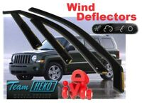 JEEP PATRIOT  2006 -  5.doors  Wind deflectors  4.pc  HEKO 19129