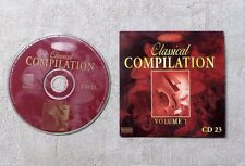 "CD AUDIO / VARIOUS ""MILLENNIUM MESTERS CLASSICAL COMPILATION VOLUME 1 CD 23"""