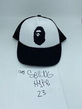 bape  A Bathing Ape summer bag s/s20 trucker hat black white