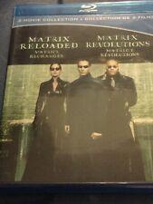 Matrix Reloaded / Matrix Revolutions [2003] (2-disc Blu-ray)
