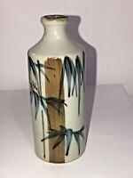 Vintage Otagiri Porcelain Vase or Incense Diffuser - Hand Crafted in Japan ~ 5in