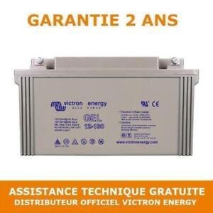 Batterie camping car Victron Energy GEL 12v 130Ah BAT412121104 decharge lente