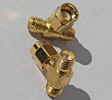 Adapter, Splitter, RP-SMA Antennen  Wlan Stück Y-Verteiler T-Stück Pigtail IPX**
