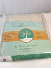 New Listinghumble bebe prefold cloth diapers 1 dozen unbleached