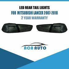 Smoked FULL LED Tail Lights DYNAMIC for MITSUBISHI LANCER EVO X 2008-2017