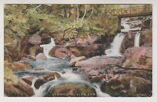 Devon postcard - Lynmouth, Glen Lyn