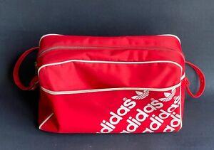 True Vintage ADIDAS  Nylon Tasche Cabin Messanger Bag Sporttasche Old School 70s