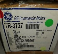 GE COMMERCIAL MOTORS TR-3727 5KCP39DGS375 (LOT OF 3)