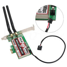 PCI-e PCI Express Card Dual-Band 300Mbps Network Bluetooth 4.0 Wlan WiFi Adapter