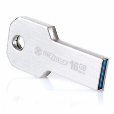 "meZmory USB stick 3.0 16gb speicherstick schlüssel-anhänger edelstahl ""Key"""