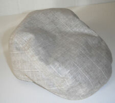 WOOLRICH linen cotton blend DRIVING CAP HAT MEDIUM