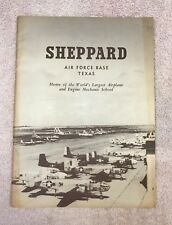 Sheppard Air Force Base Booklet - circa 1951 to 1953