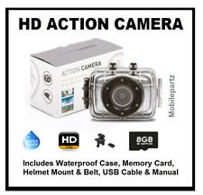 ThumbsUp! Motor Bike Cycle Dash Camera HD Waterproof Mount Sports Cam Case