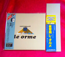 Le Orme Contrappunti MINI LP CD JAPAN UICY-9466 + PROMO OBI
