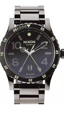 Nixon Men's Watch A277-1885 Diplomat Stainless Steel Swiss Movement Quartz