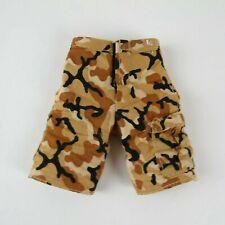 "Lanard 1/6 Scale Short Camo Pants For Most 12"" Action Figures GI Joe BBI 21st"