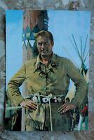 Kino Film Postkarte AK OLD SHATTERHAND 1962 Lex Barker Marterpfahl Karl May