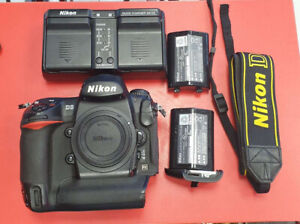 Used Nikon D3 Digital working SLR Camera (Body Only) Unboxed