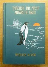 1900 Through the First ANTARCTIC NIGHT Frederick Cook PHOTOS Belgica EXPEDITION