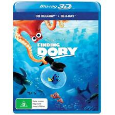 Disney Pixar Finding Dory Blu-ray 3D + 2D BRAND NEW SEALED Region B FREE POSTAGE