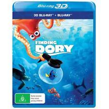 Disney Pixar Finding Dory Blu-ray 3D + 2D BRAND NEW SEALED Region B FREE POSTAGE