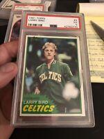 1981 Larry Bird Psa 5 Read