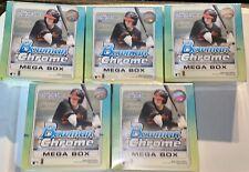 2020 Bowman CHROME Baseball - MEGA BOX LOT OF FIVE (5) 😳🔥