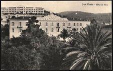 cartolina SAN REMO hotel de nice