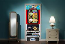 Door Mural Monopoly Amusment Arcade View Wall Stickers Decal Wallpaper 269