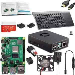 """Vilros Raspberry PI 4 Model B Complete Desktop Kit with 10"""" Keyboard/Touchpad"""